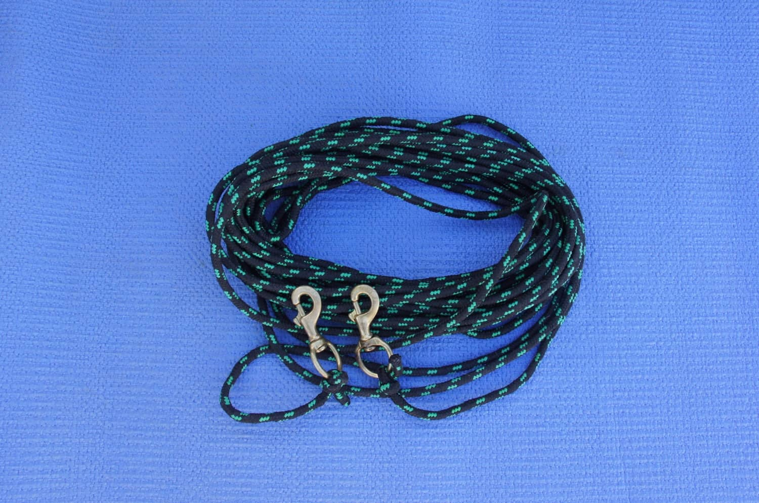 Wound rope with staples attached to each end