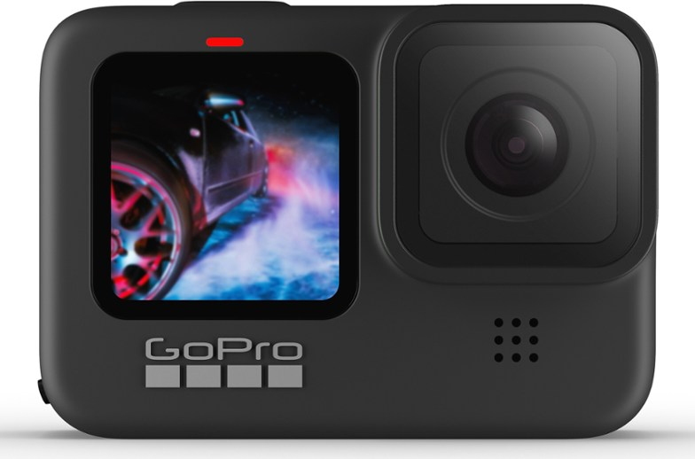For high-quality photos with weightless running, there is no other option but GoPro HERO9.