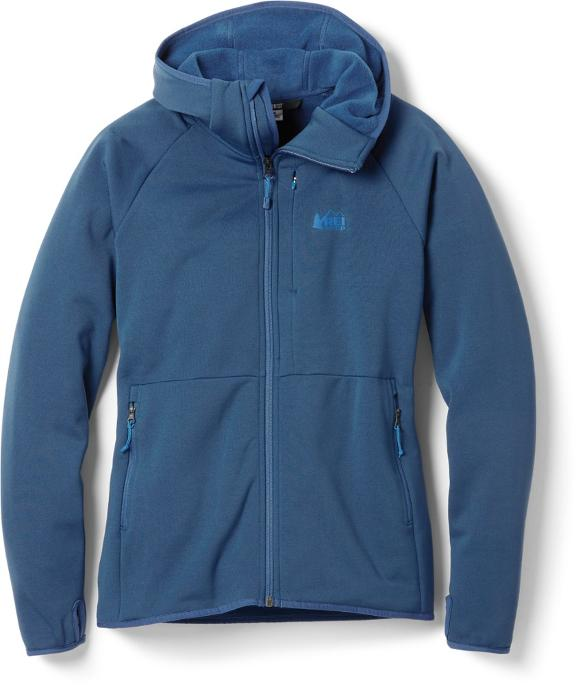 Take comfort in the camp with REI Hyperaxis Fleece, which is sold at the REI Labor Day sale.