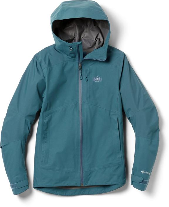 Stay dry and warm with the REI XeroDry GTX co-op jacket from the REI Labor Day sale.
